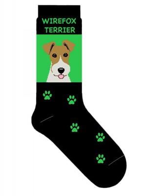 Wire Fox Terrier Socks
