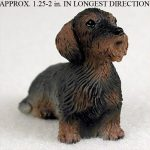 Wirehair-Dachshund-Mini-Resin-Hand-Painted-Dog-Figurine-400283493472