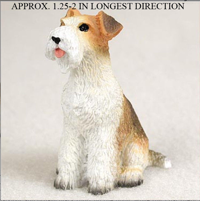 Wire Fox Terrier Dog Breed Oak Wood Welcome Outdoor Yard Sign -
