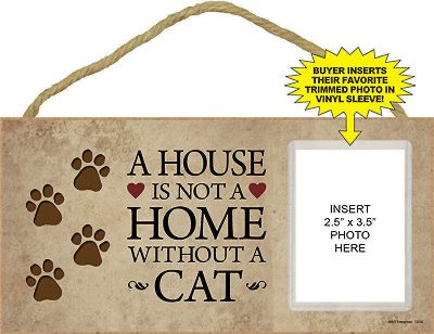 Wood-Cat-Sign-Wall-Plaque-5×10-House-Is-Not-a-Home-180718405923