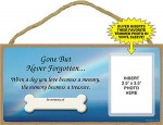 Wood-Dog-Sign-Wall-Plaque-5x10-Gone-But-Never-Forgotten-400239967537
