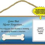 Wood-Dog-Sign-Wall-Plaque-5×10-Gone-But-Never-Forgotten-400239967537