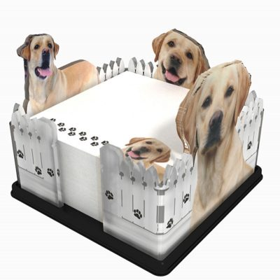 Yellow-Lab-Dog-Breed-Acrylic-Note-Holder-Memo-Note-Pad-Made-in-USA-400627528833