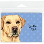 Yellow-Lab-Dog-Note-Cards-Set-of-8-with-Envelopes-181382999692