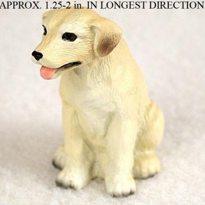 Yellow-Lab-Mini-Resin-Hand-Painted-Dog-Figurine-Statue-Hand-Painted-400269044594