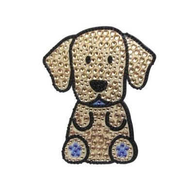 Yellow-Labrador-Dog-Rhinestone-Glitter-Jewel-Phone-Ipod-Iphone-Sticker-Decal-400296899751