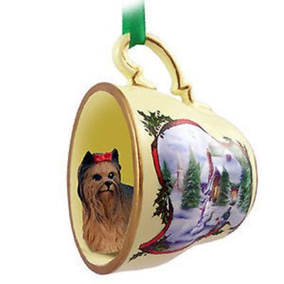 Yorkie-Dog-Christmas-Holiday-Teacup-Ornament-Figurine-180766836816