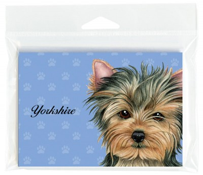 Yorkie-Dog-Note-Cards-Set-of-8-with-Envelopes-Puppy-Cut-400694674894