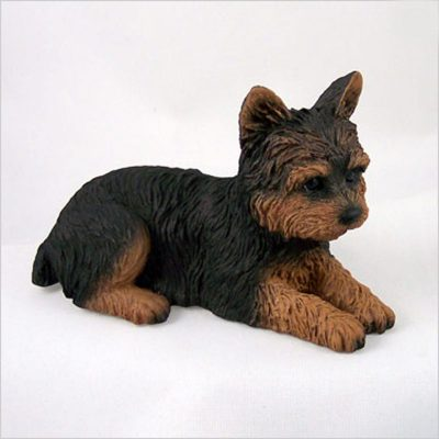 Yorkie-Hand-Painted-Collectible-Dog-Figurine-Puppy-Cut-400321763078