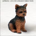Yorkie-Mini-Resin-Hand-Painted-Collectible-Dog-Figurine-Puppy-Cut-400333032249