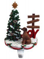 Italian Greyhound Stocking Holder Hanger
