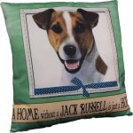 Jack Russell Terrier Pillow 16×16 Polyester 1