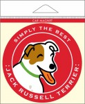 """Jack Russell Terrier Car Magnet 4x4"""""""