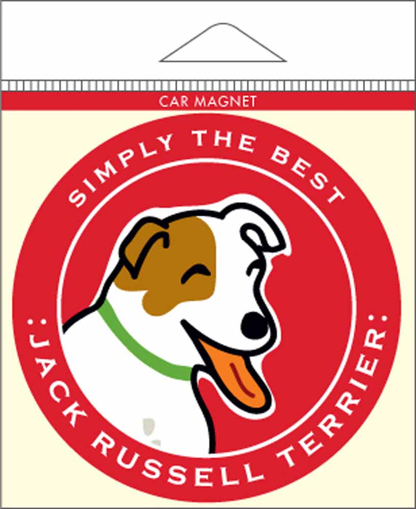 Jack Russell Terrier Car Magnet 4x4""