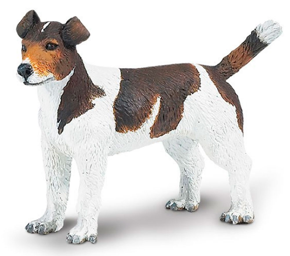 Jack Russell Terrier Figurine Toy