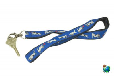 Jack Russell Terrier Lanyard Key Holder Badge Holder