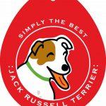 Jack Russell Terrier Sticker 4×4″ 1