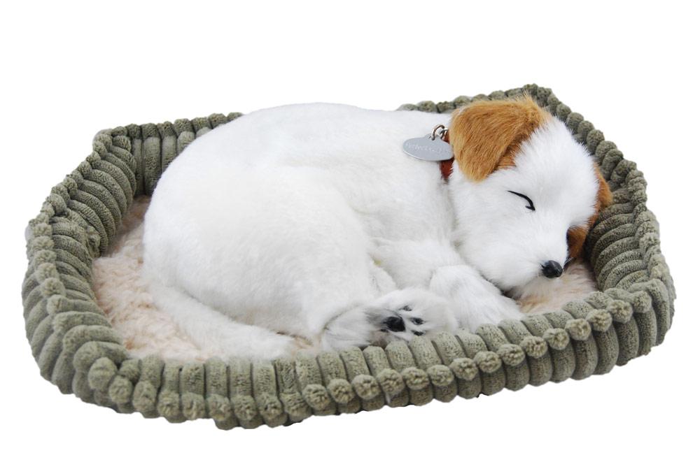 Jack Russell Life Like Stuffed Animal Breathing Dog Perfect Petzzz