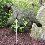 kerry-blue-terrier-figurine-garden-sign