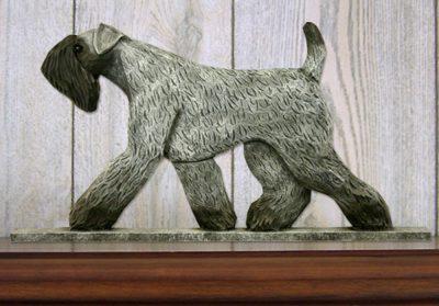 kerry-blue-terrier-figurine-plaque
