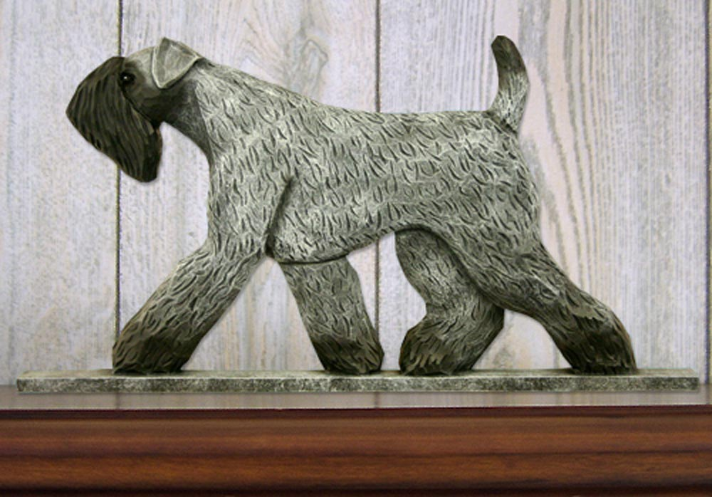kerry-blue-terrier-figurine-plaque