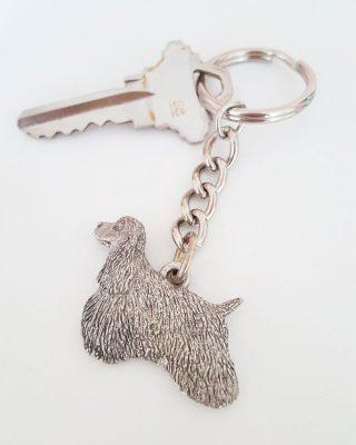Pewter Keychain & Keys