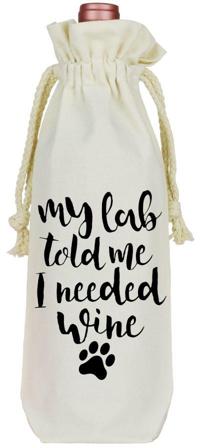 Lab Wine Bag