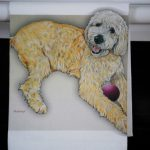 Labradoodle Kitchen Hand Towel 2