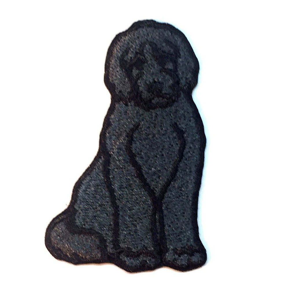Labradoodle Patch Black