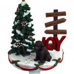 labradoodle-stocking-holder-chocolate