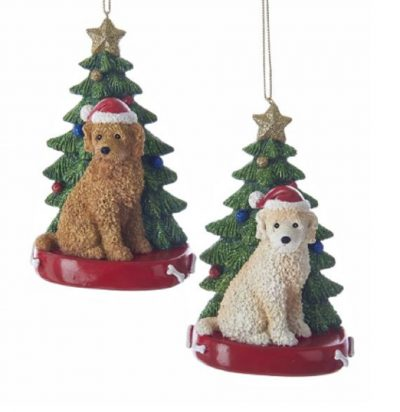 Labradoodle Tree Ornament