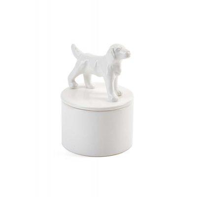 Labrador Jewelry Box Porcelain