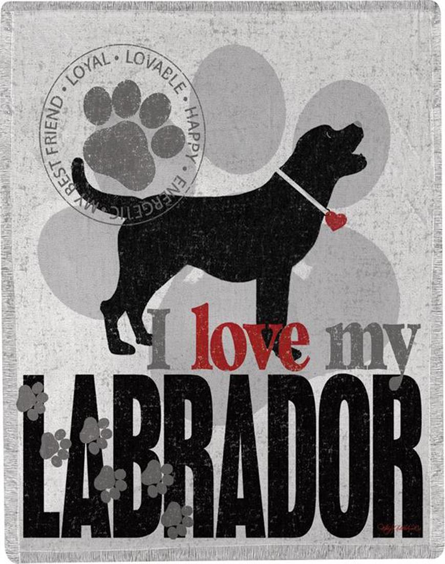 Labrador Polyester Dog Blanket Throw