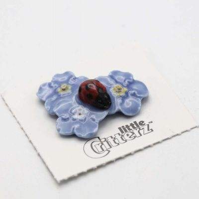 Ladybug Porcelain Figurine