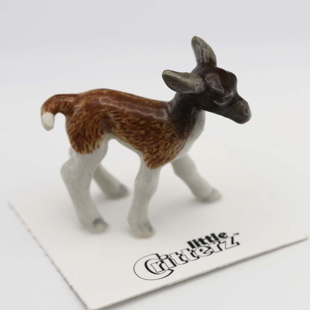Llama Porcelain Figurine