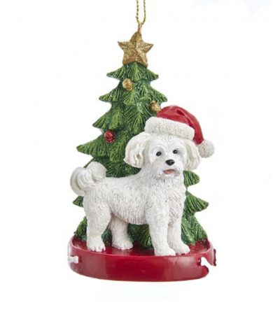 Maltese Tree Ornament