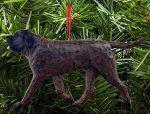 Mastiff Tree Ornament Brindle