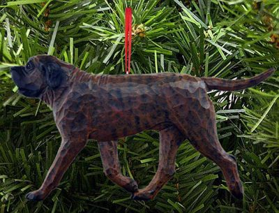 Mastiff Tree Ornament Brindle