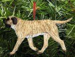 Mastiff Tree Ornament Fawn Brindle