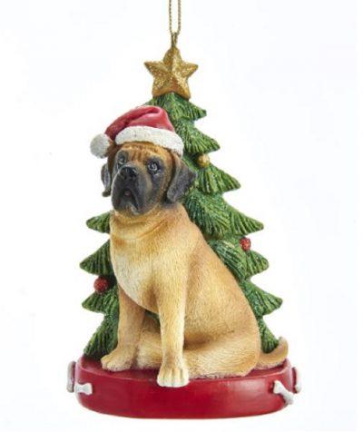 Mastiff Tree Ornament