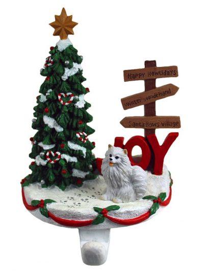 mini-american-eskimo-stocking-holder