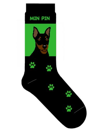 mini-pinscher-socks-green