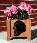 Newfoundland Planter Flower Pot Black