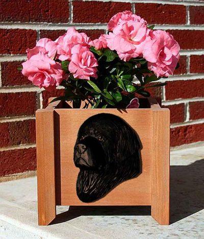 Newfoundland Planter Flower Pot Black 1