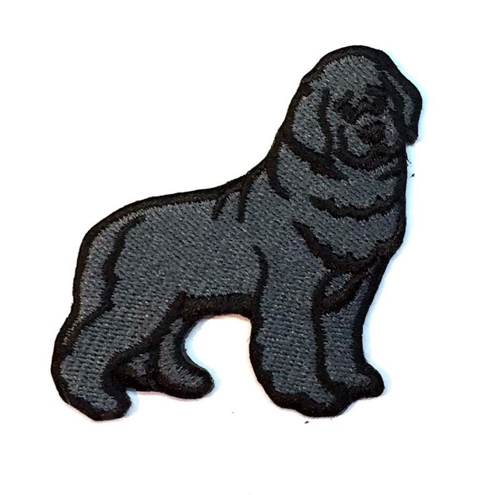 Newfoundland Iron on Embroidered Patch