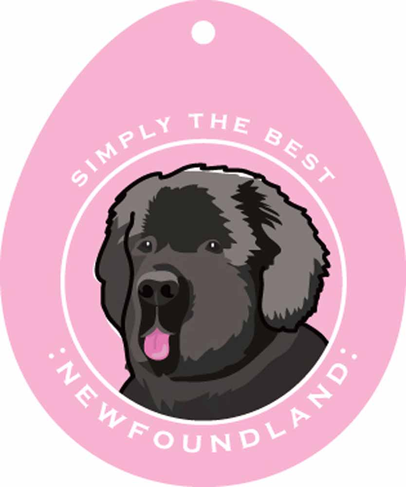 Newfoundland Sticker 4x4""