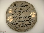 Dog Stepping Stone No Longer By My Side