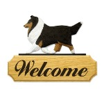 Dog Welcome Sign Without Stakes