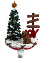 Norfolk Terrier Stocking Holder Hanger