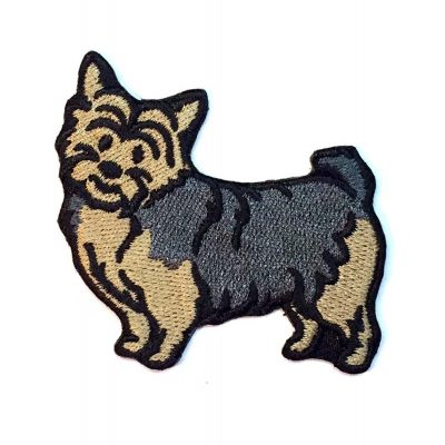 Norwich Terrier Iron on Embroidered Patch